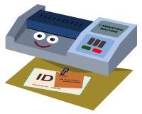 Машина для производства бумажных ламинатов бесплатная иллюстрация
