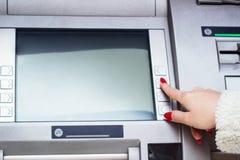 Машина ATM Стоковое фото RF