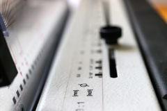 Машина Bookbinding Оборудование и машины печатания стоковое изображение rf