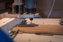 Машина CNC, магазин woodworking, концепция хобби, Стоковое фото RF