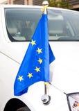 машина eu корпуса дипломатическая Стоковая Фотография RF