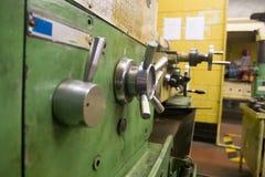 машина lathe старая Стоковая Фотография RF