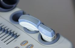 Машина USG медицинская Стоковая Фотография