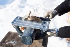 Машина Woodworking стоковые фото