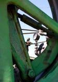 машинное оборудование датчика фермы Стоковое фото RF