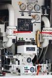 машинное оборудование детали промышленное Стоковые Изображения