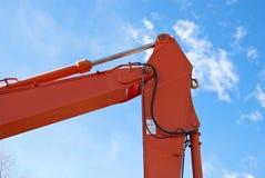 машинное оборудование детали backhoe стоковые изображения rf