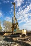 Машинное оборудование для конструкции моста Стоковые Фото