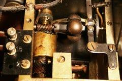 машинное оборудование старое очень стоковая фотография