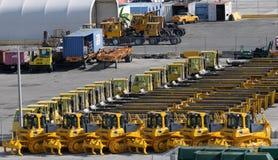 машинное оборудование экспорта Стоковое Изображение RF