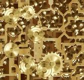 машинное оборудование cogs clockwork иллюстрация штока