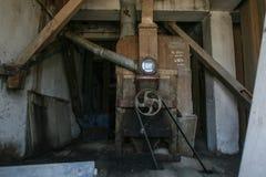 Машинное оборудование зерна филируя Стоковое Изображение