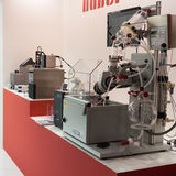 Машинное оборудование на Chem-Med, среднеземноморском химикате  Стоковое Изображение RF