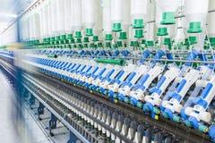 Машинное оборудование прядения хлопка Стоковая Фотография RF