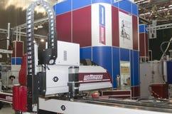 Машинное оборудование пластмассы отливая в форму Стоковое Изображение RF