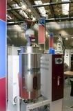 Машинное оборудование пластмассы отливая в форму Стоковые Изображения