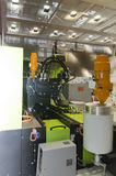 Машинное оборудование пластмассы отливая в форму Стоковое фото RF