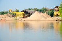 Произведенный песок. Стоковое Изображение RF