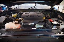 Машинное отделение автомобиля Стоковые Изображения