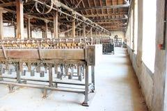 Машины фабрики год сбора винограда Стоковые Изображения