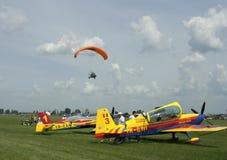 машины летания сырцовые Стоковое фото RF