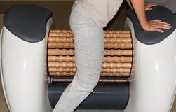 Машины массажа профилировщика крена лимфатические Стоковое Изображение