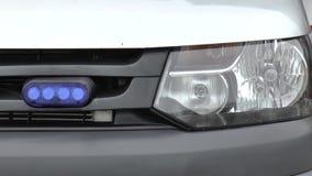 Машины скорой помощи сирены, автомобиль акции видеоматериалы