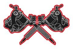 Машины татуировки Стоковые Фотографии RF
