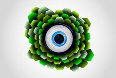 маштабы глаза Стоковые Изображения RF