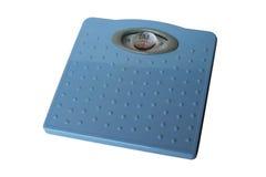 маштабы изолированные ванной комнатой Стоковые Изображения RF