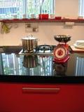 маштабы кухни стоковые фотографии rf