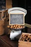 Маштабы магазина фермы сбора винограда веся Стоковое Изображение RF