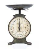 маштабы металла старые Стоковое фото RF