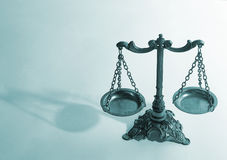 маштабы правосудия Стоковая Фотография