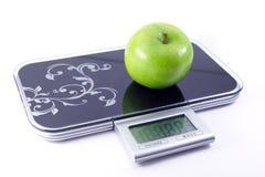 маштабы яблока Стоковая Фотография