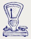 Маштаб веса бесплатная иллюстрация