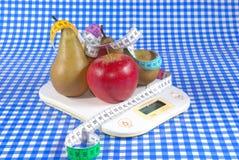маштаб груш яблок Стоковое фото RF