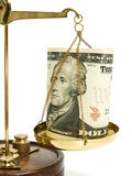 маштаб доллара Стоковые Фото