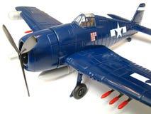 маштаб модели hellcat самолет-истребителя Стоковая Фотография RF