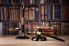 Маштаб правосудия Законный офис Стоковая Фотография