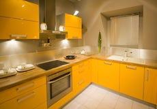 маштаб 16 кухонь самомоднейший новый Стоковое Изображение RF