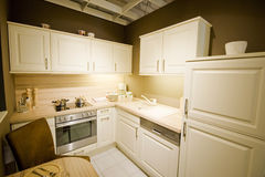 маштаб 2 кухонь самомоднейший новый Стоковые Фото