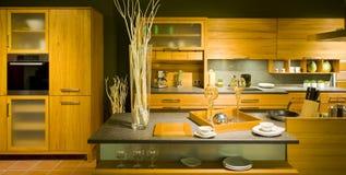 маштаб 20 кухонь самомоднейший новый Стоковая Фотография RF