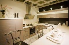 маштаб 5 кухонь самомоднейший новый Стоковое Изображение RF