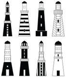 маяки Стоковое Изображение RF