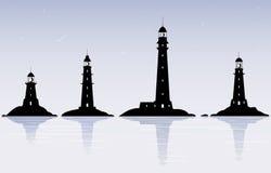 маяки Стоковое Изображение