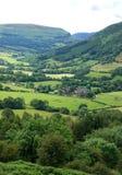 Маяки Brecon около монастыря Llanthony Стоковые Изображения RF