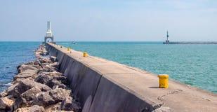 Маяк Вашингтона порта Стоковое фото RF