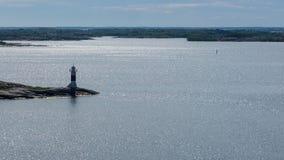 Маяк в архипелаге Стоковые Фотографии RF