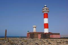 Маяк в Фуэртевентуре Маяк Испании маяк старый Стоковые Фото